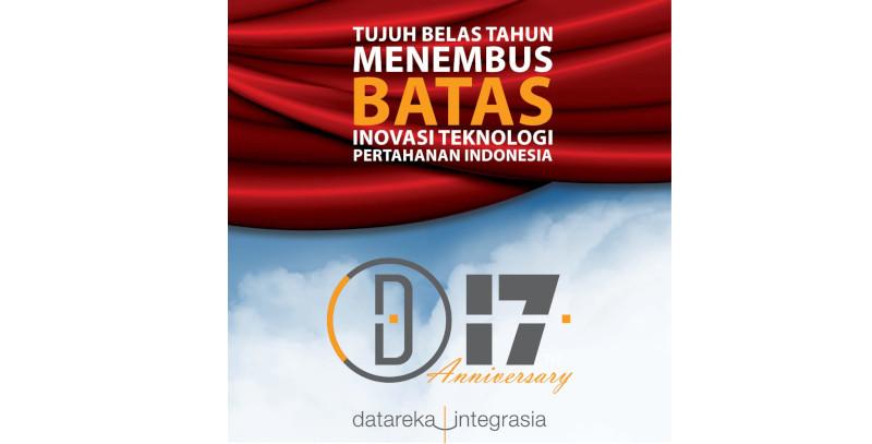 17th Anniversary Datareka Integrasia - 13 April 2021