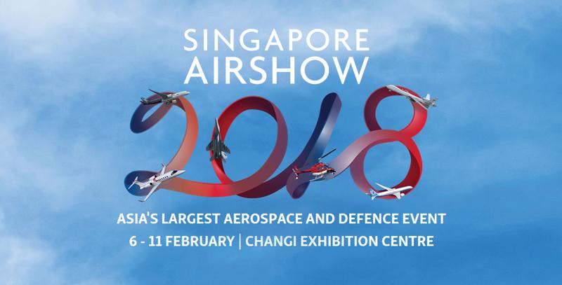Singapore Airshow 2018 8-11 Februari 2018