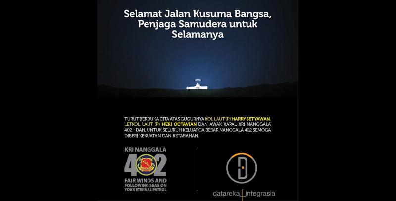 Mourn for KRI Nanggala 402