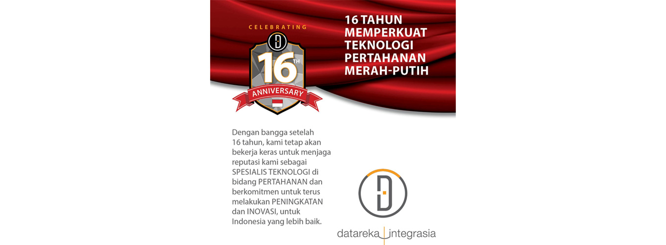 16th  Anniversary Datareka Integrasia - 13 April 2020
