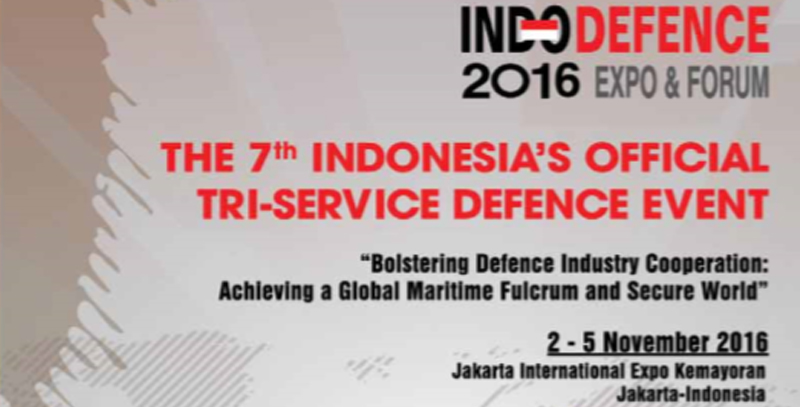 Indodefence 2016 Expo & forum